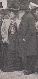 Isabelle Chapusot et Angelo Mariani le 6 mai 1905 à Paris.