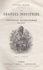 L'exposition internationale de 1875 à Paris.