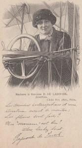 La baronne de la Roche.
