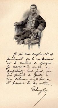 Tcheng-Loh, Ministre de Chine en France. Album Mariani, Tome XIV, 1924.